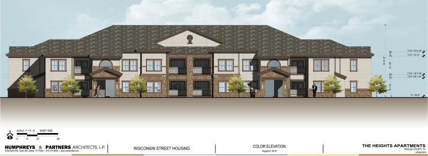 Ground Broken On The Heights Apartments In Edinburg Texas