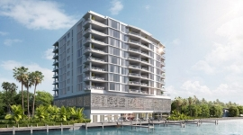 ADAGIO Fort Lauderdale Beach Celebrates Topping Off of Construction